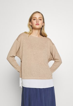 BATWING - Sweter - camel