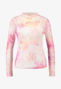 Dorothy Perkins - TIE DYE SCOOP - Maglietta a manica lunga - pink - 3