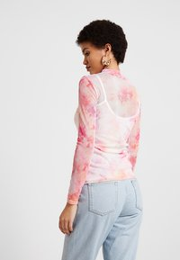 Dorothy Perkins - TIE DYE SCOOP - Maglietta a manica lunga - pink - 2