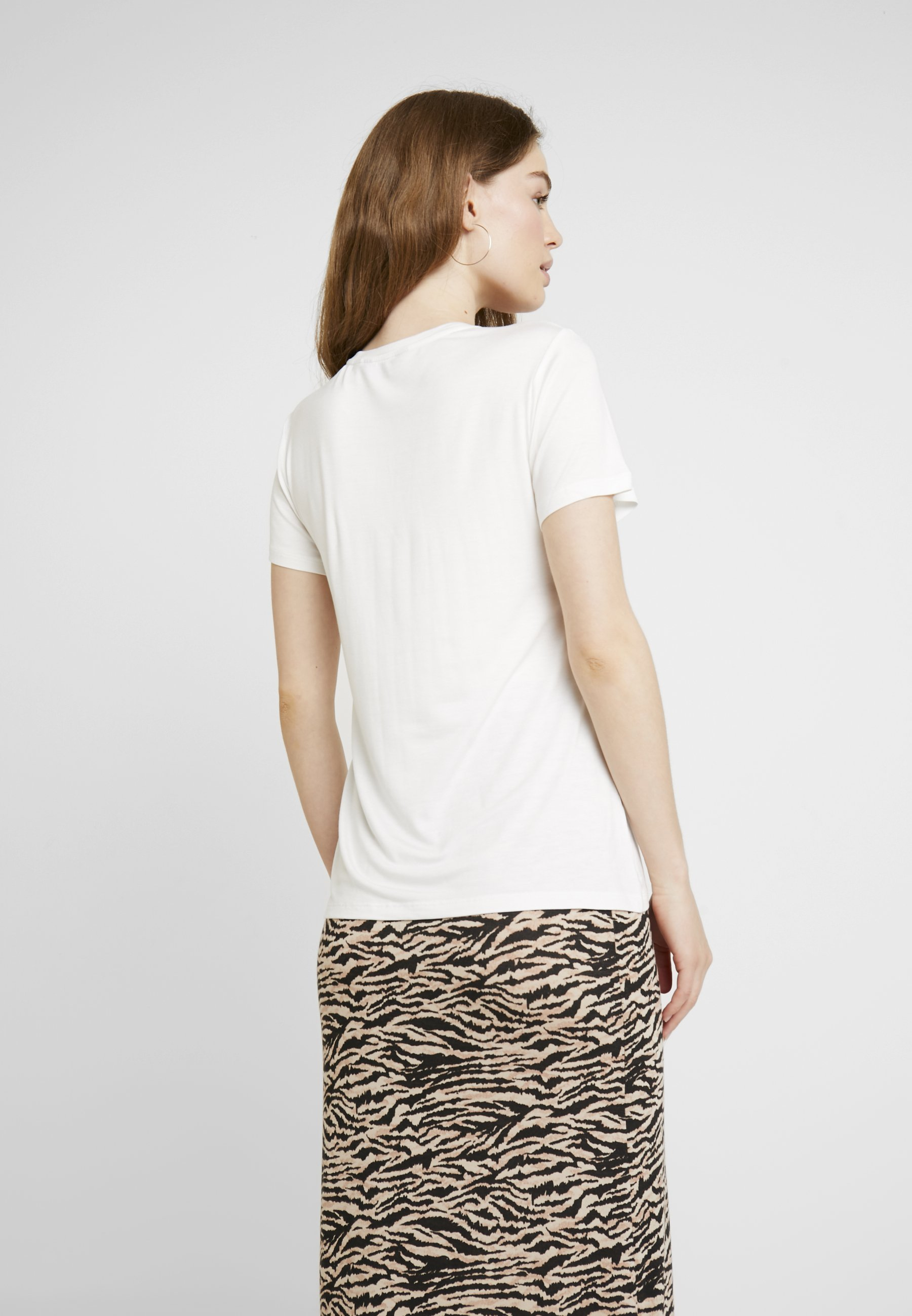 Dorothy Perkins LEOPARD MOTIF TEE - T-Shirt print cream