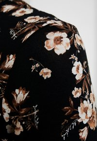 Dorothy Perkins - HIGH NECK - Top sdlouhým rukávem - black/white - 5