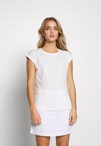 Dorothy Perkins - ROLL SLEEVE TEE 3 PACK - T-shirt print - blush - 4