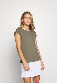 Dorothy Perkins - ROLL SLEEVE TEE 3 PACK - T-shirt print - blush - 3