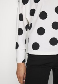 Dorothy Perkins - BATWING SPOT BRUSHED - Sweter - cream - 5