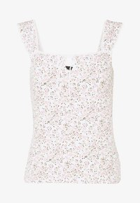 Dorothy Perkins - DITSY TIE FRONT VEST - Topper - ivory - 3