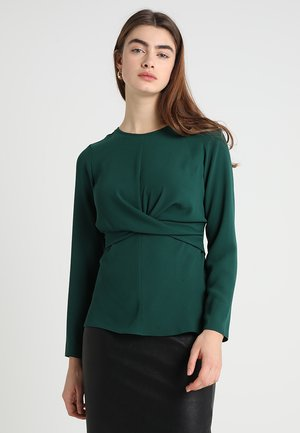WRAP FRONT - Blusa - green