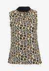 Dorothy Perkins - ANIMAL PRINT SLESS - Bluse - multi-coloured