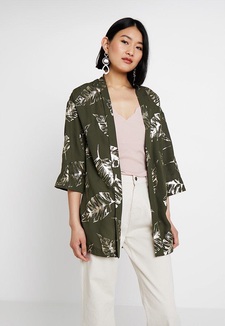 Dorothy Perkins - COVER UP - Summer jacket - khaki
