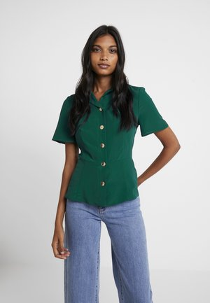 FITTED UTILITY - Button-down blouse - green