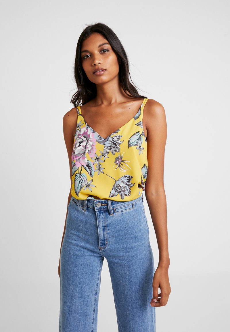 Dorothy Perkins - PARROT VOLUME CAMI - Top - multi-coloured