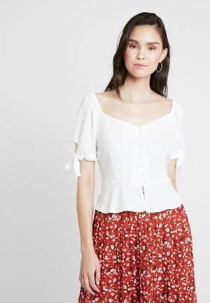 BUTTON DOWN MILKMAID  - Bluser - ivory