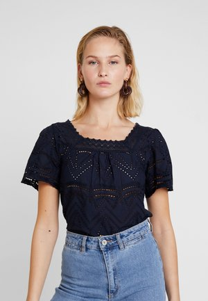 SQARE BRODIE - Blouse - navy