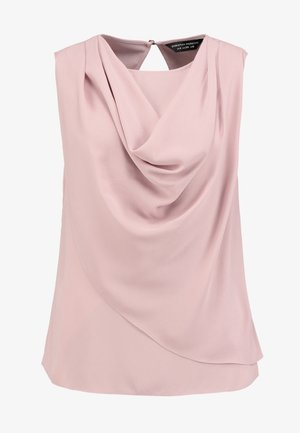 SLEEVELESS COWL NECK - Camicetta - light pink