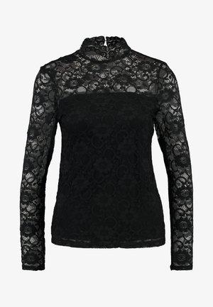 HIGH NECK - Blus - black