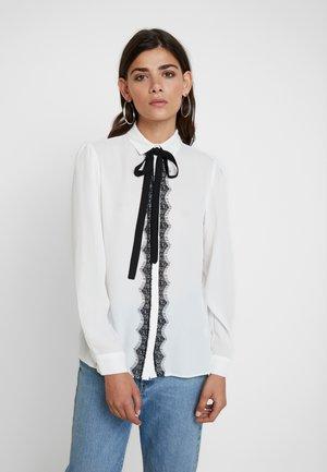 ROMANTIC TIE - Skjorte - ivory