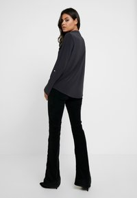 Dorothy Perkins - PLAIN - Blouse - dark grey - 2