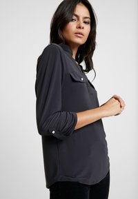 Dorothy Perkins - PLAIN - Blouse - dark grey - 4