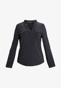 Dorothy Perkins - PLAIN - Blouse - dark grey - 3