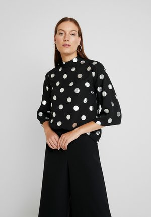 SPOT 3/4 SLEEVE - Blouse - black