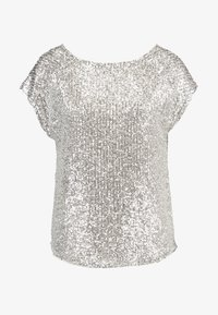 Dorothy Perkins - SEQUIN TEE - Bluser - champagne - 4