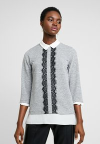 Dorothy Perkins - 2IN1 - Jumper - grey marl - 0