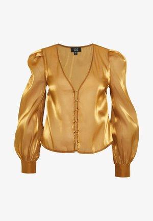 LOLA SKYE BLOUSE - Blouse - gold