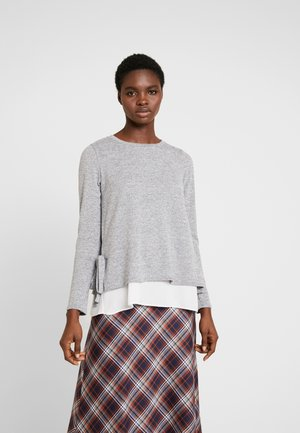 TIE SIDE - Jumper - grey marl