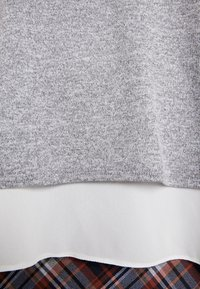 Dorothy Perkins - TIE SIDE - Trui - grey marl