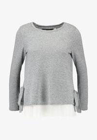 Dorothy Perkins - TIE SIDE - Trui - grey marl - 5