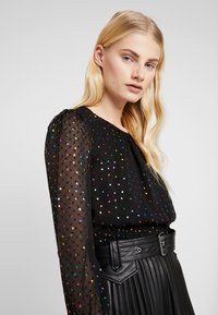 Dorothy Perkins - LOLA SKYE MULTI DOT - Blouse - black - 3