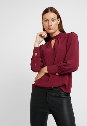 HONEY LONG SLEEVE - Camicetta - plum
