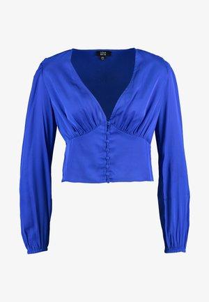 LOLA SKYE BUTTON THROUGH - Blus - cobalt