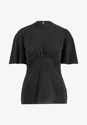 FLUTTER SLEEVE - T-shirt imprimé - silver