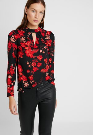 FLORAL HONEY LONG SLEEVE - Camicetta - red