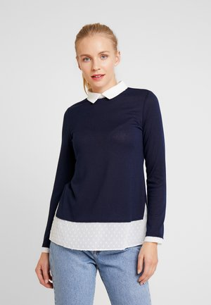 DOBBY - Blouse - navy