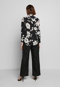 Dorothy Perkins - LONG LINE SHIRT - Camisa - black - 2