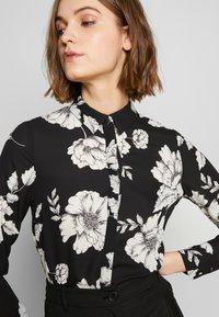 Dorothy Perkins - LONG LINE SHIRT - Camisa - black - 7