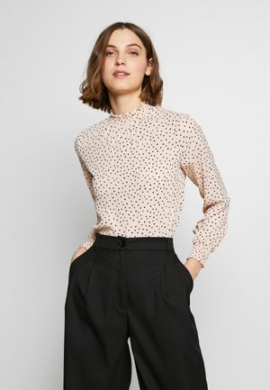 BLUSH  SHIRRED - Blouse - blush