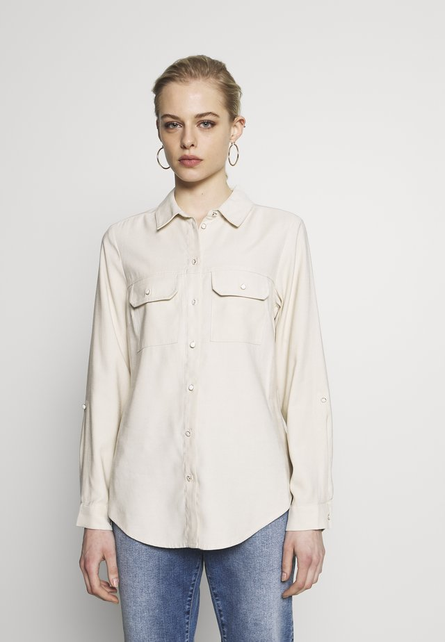 UTILITY - Button-down blouse - stone