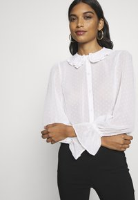 Dorothy Perkins - COLLARED CUFF - Camicia - ivory - 3
