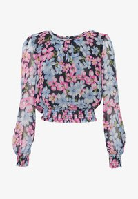 Dorothy Perkins - LOLA BACK SHIRRED  - Bluzka - multicolor - 4