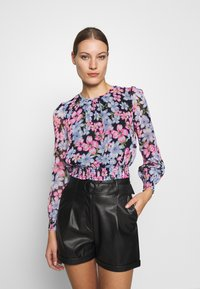 Dorothy Perkins - LOLA BACK SHIRRED  - Bluzka - multicolor - 0