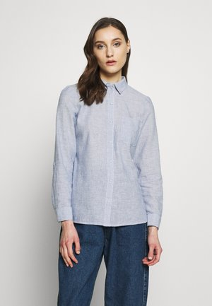 CLOSED COLLAR - Camisa - chambray