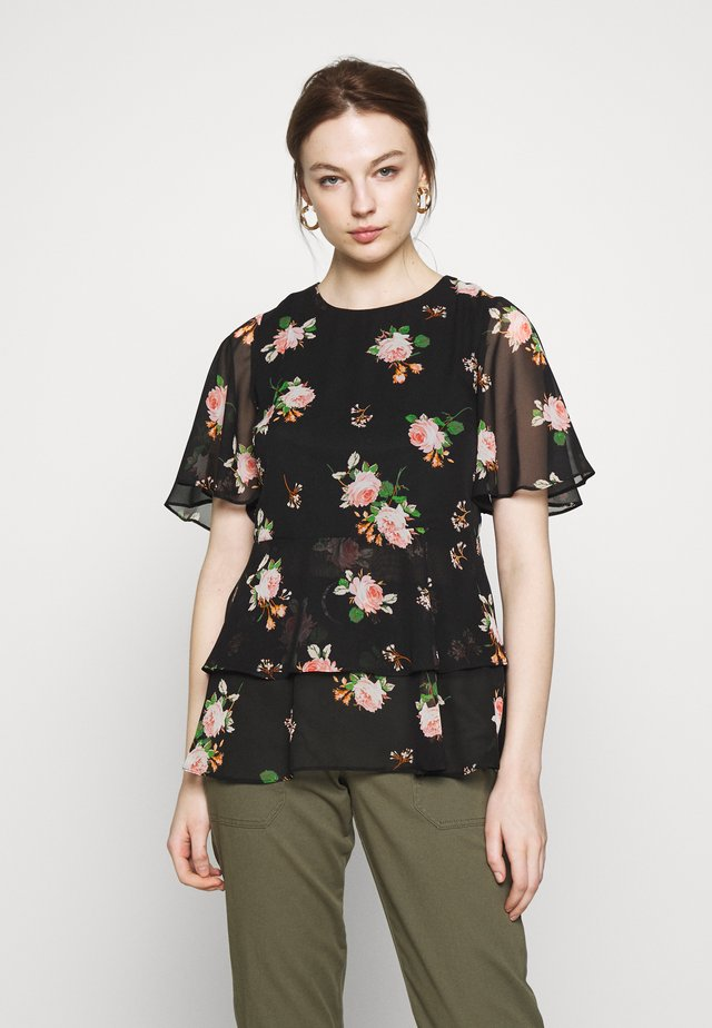 FLORAL TIERED  - Pusero - print
