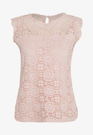 SLEEVELESS SHELL - Blouse - blush