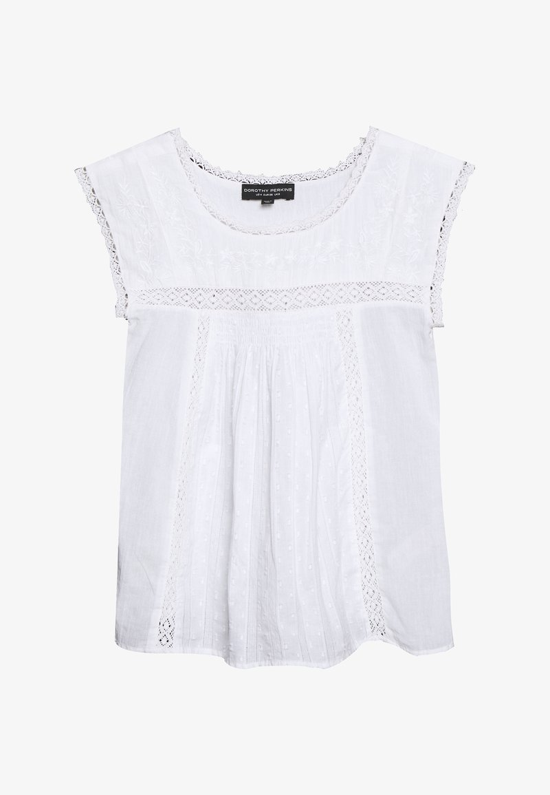 Dorothy Perkins - EMBROIDERED - Bluser - ivory