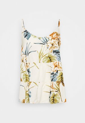 TROPICAL TIERED CAMI - Top - stone