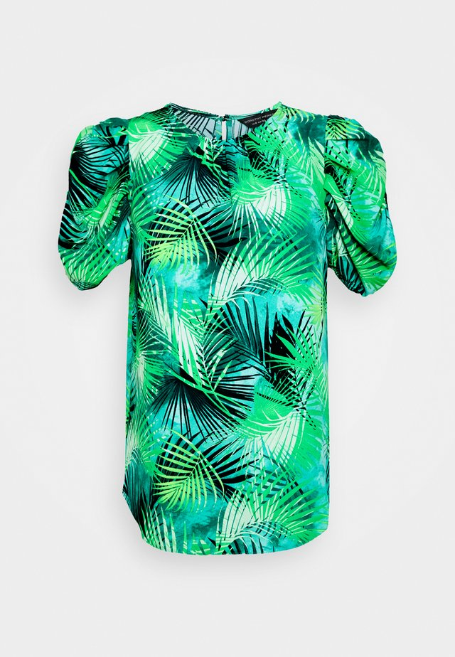 GREEN TROPICAL TEE - Pusero - green