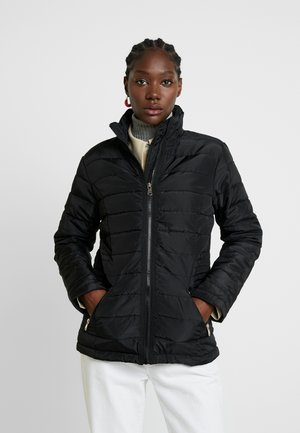 LIGHTWEIGHT SHORT PADDED JACKET - Giacca da mezza stagione - black