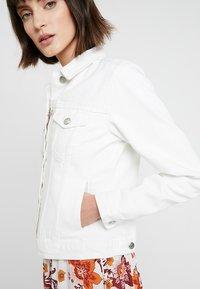 Dorothy Perkins - JACKET - Denim jacket - ecru - 4